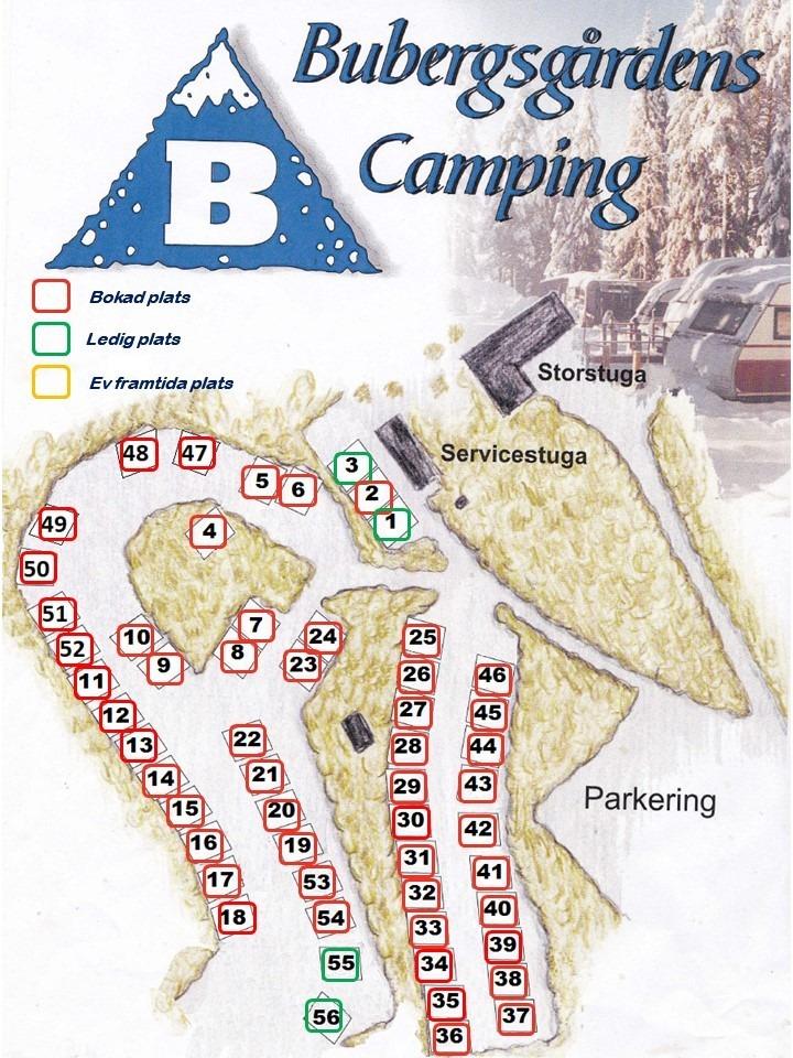 Karta camping